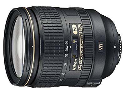 Amazon Renewed Nikon 24-120mm f/4G ED VR AF-S NIKKOR Lens : This is my favorite all-purpose lens!
