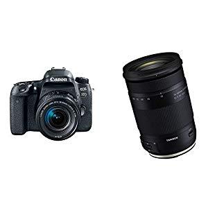 Canon EOS 77D EF-S 18-55 IS STM Kit and 18-400mm F/3 – Get this camera!