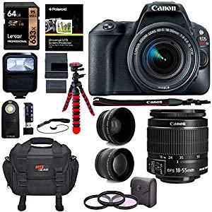 Canon EOS Rebel SL2 DSLR Camera – Great camera make sure you get a good lens