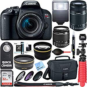 Canon EOS Rebel T7i DSLR Camera : I was due for an upgrade!