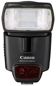 Canon Speedlite 430EX II Flash – Perfect unit for events, small groups and daytime fill
