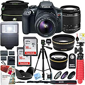 Canon T6 EOS Rebel DSLR Camera – Awesome kit!