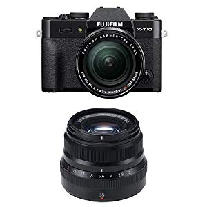 Fujifilm X-T10  w/XF18-55mm & XF35mm F2  Lens : For me, the X-T10 is my dream camera