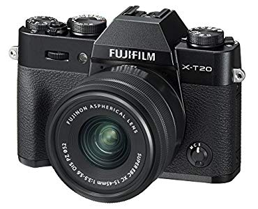 Fujifilm X-T20 Mirrorless Digital Camera w/XC15-45mmF/3 – Weight of the lens offsets the lightness of the body