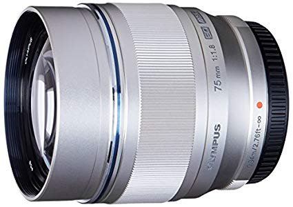 Olympus M.Zuiko Digital ED 75mm F1.8 Lens, for Micro Four Thirds Cameras (Silver) : Booom! Bo-bo-bo-bokeh!!