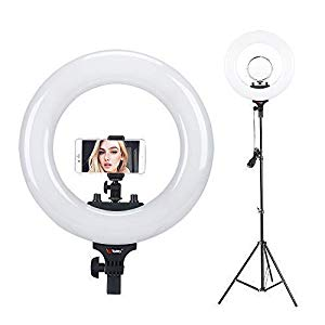 Tolifo 14″ Bi Color LED Ring Light : Highly recommended