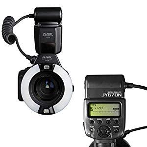 VILTROX JY670N i-TTL Macro Ring Flash Speedlite Light Flashgun – TTL ring flash